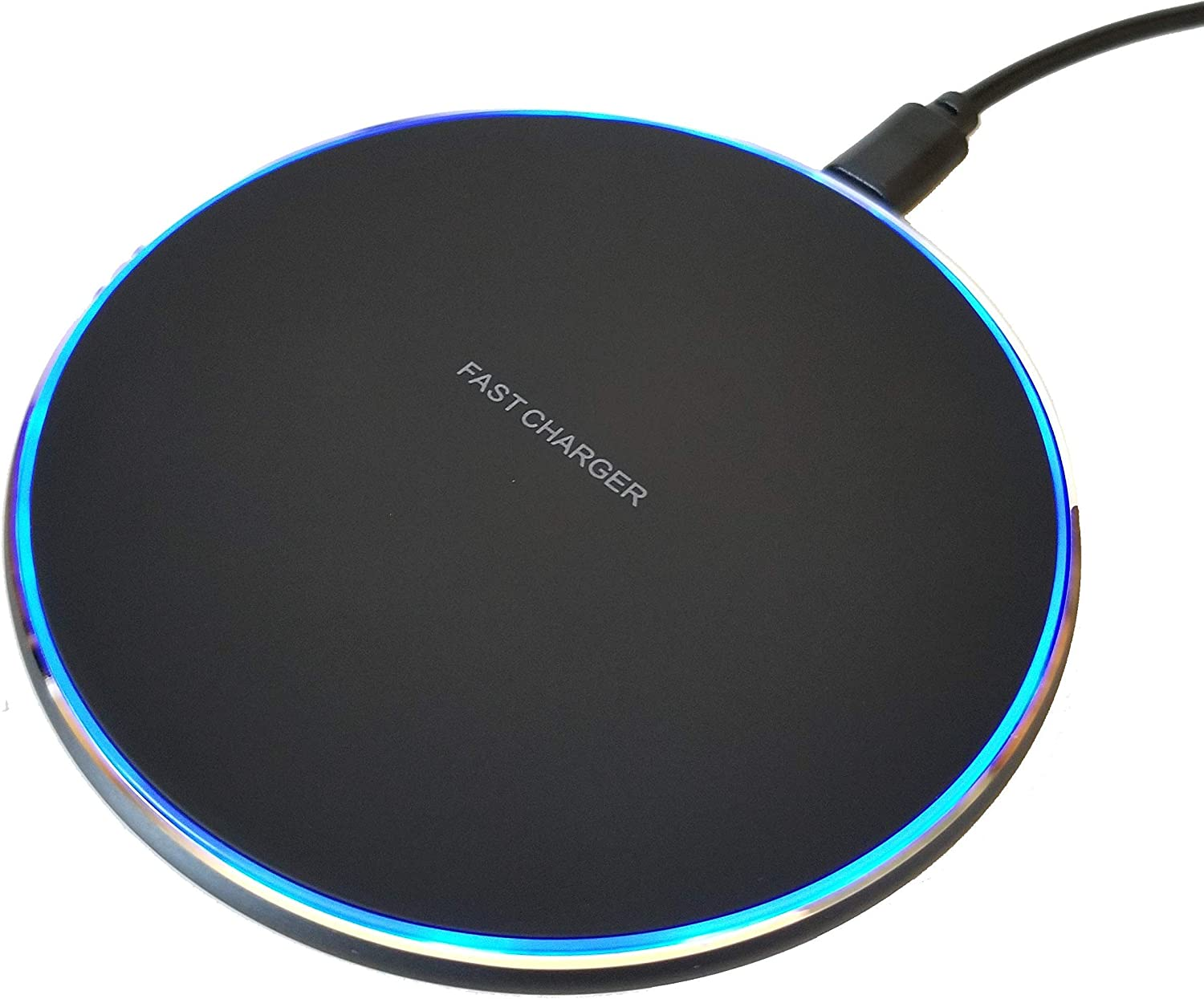 KELBRIA - Universal 15W Max Fast Wireless Charger - User-Friendly Design, Ultra Slim - Compatible with iPhone, iWatch, Air Pods and Samsung Products