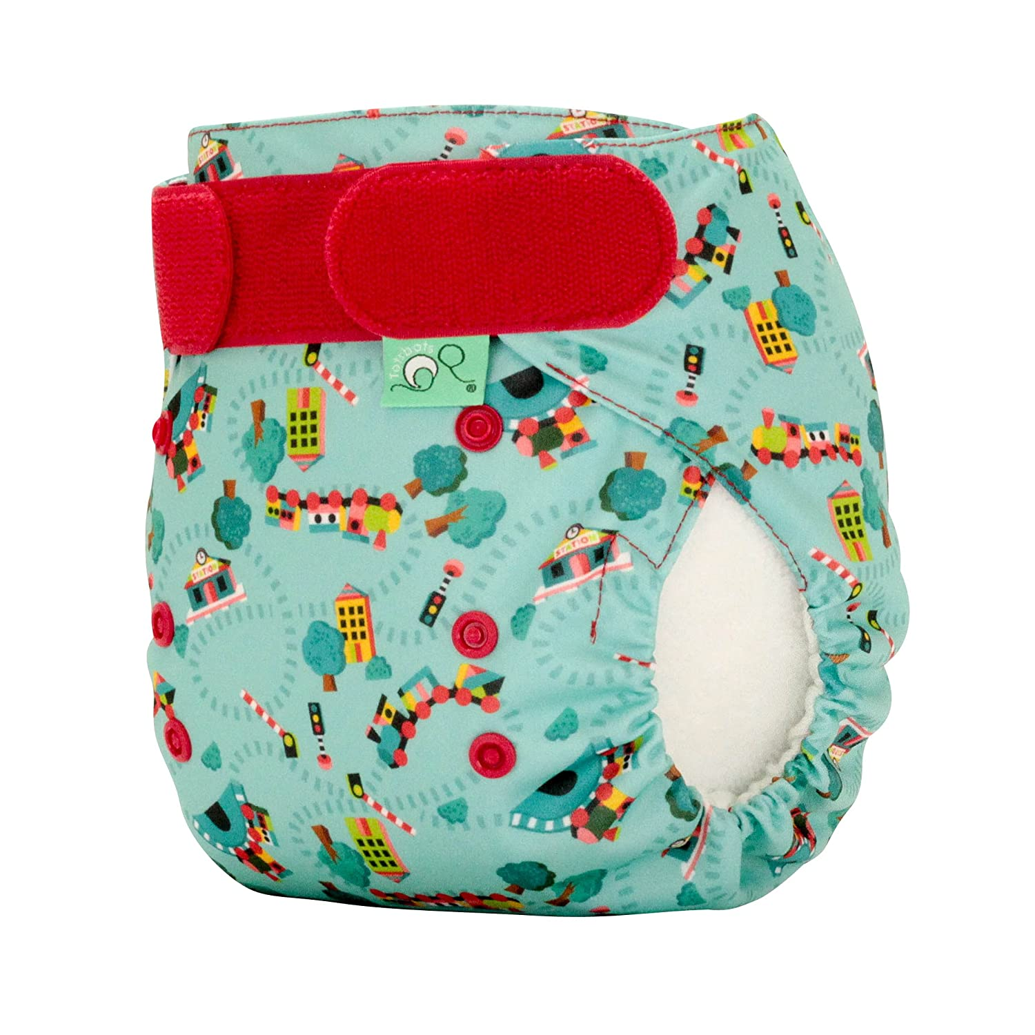 TotsBots EasyFit STAR Choo Choo Reusable Washable Nappy - One Size Tots Bots Limited 5060510760486