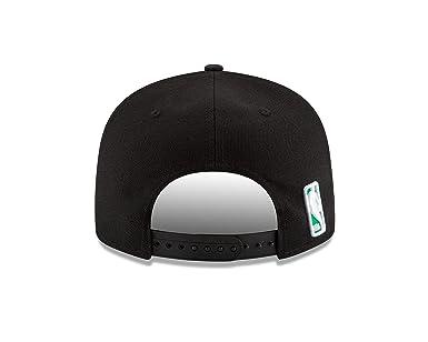 sports shoes f66b4 e8f8a Amazon.com   New Era NBA Boston Celtics Men s 9Fifty Team Color Basic Snapback  Cap, One Size, Black   Clothing