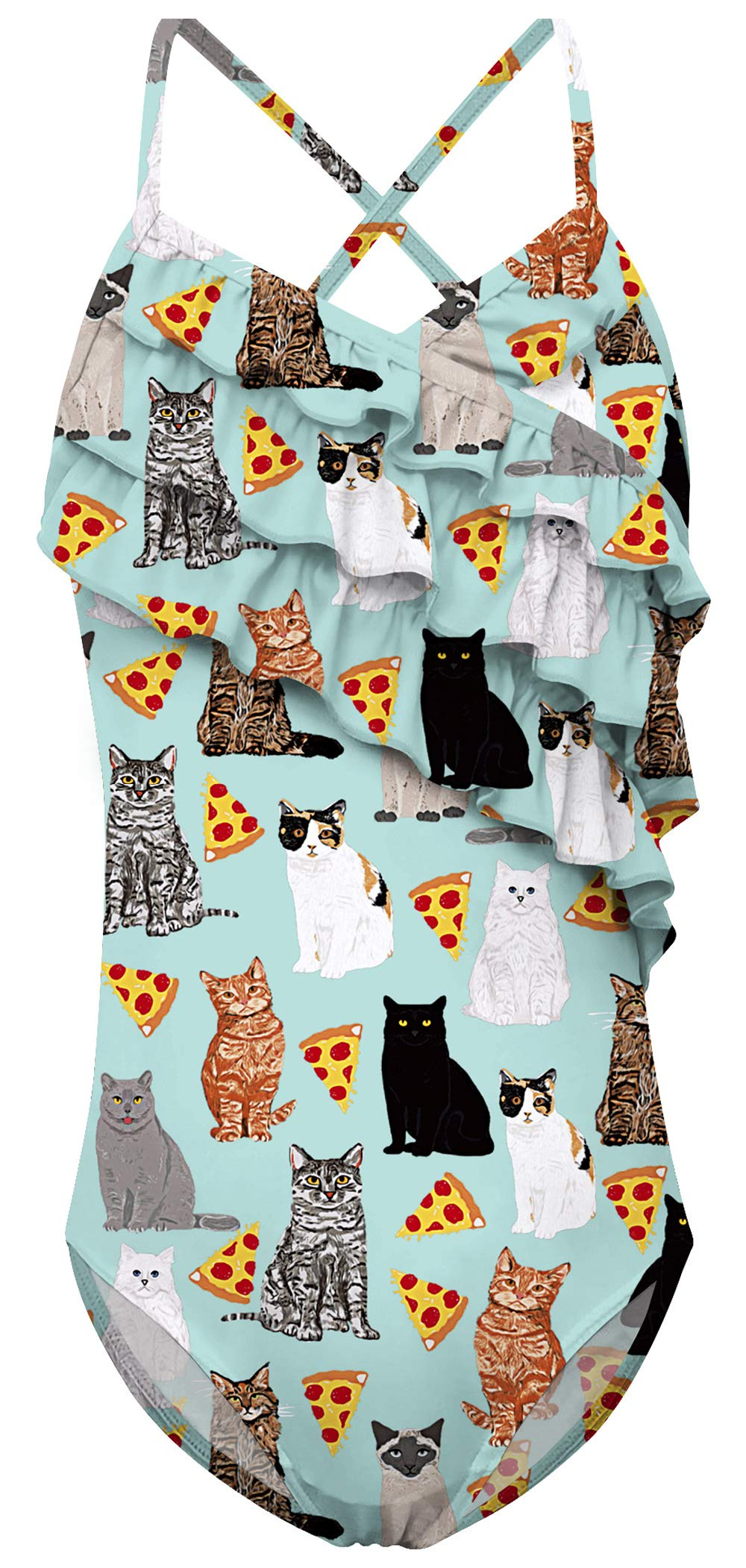 9bc786c8a8 UNICOMIDEA Swimsuit for Girls Pizza Cat One Piece Swimw... $5.10. 70 % off.  More from this seller · NICOMIDEA Boys Swim Shorts Pizza Cat Swim Trunks  Bathing ...