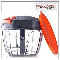 Artikel Manual Chopper with Storage Lid | Chops Vegetables, Nuts & Fruits | Meat Mincer | Medium - 650 ml