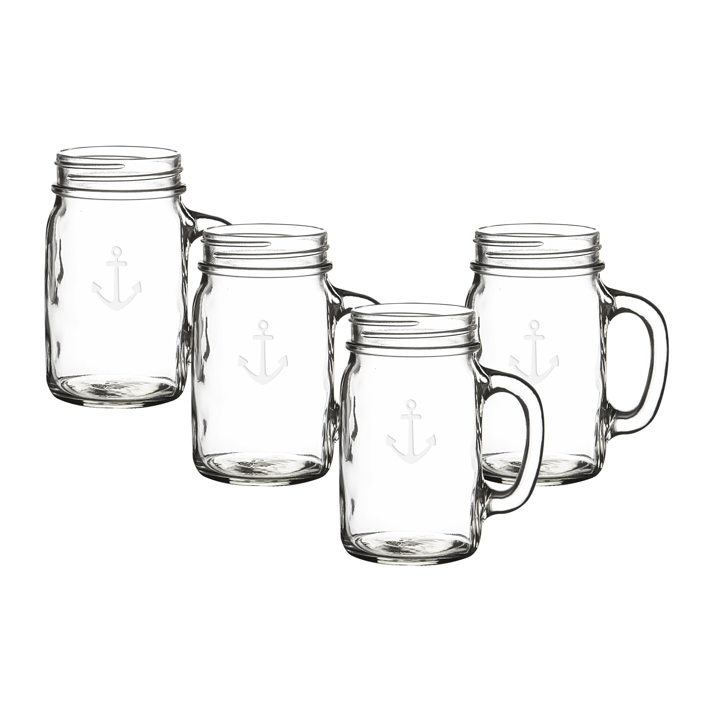 Cathy's Concepts CCA1190 Anchor Old Fashioned Drinking Jars Set Of 4 by Cathy's Concepts (Image #15)