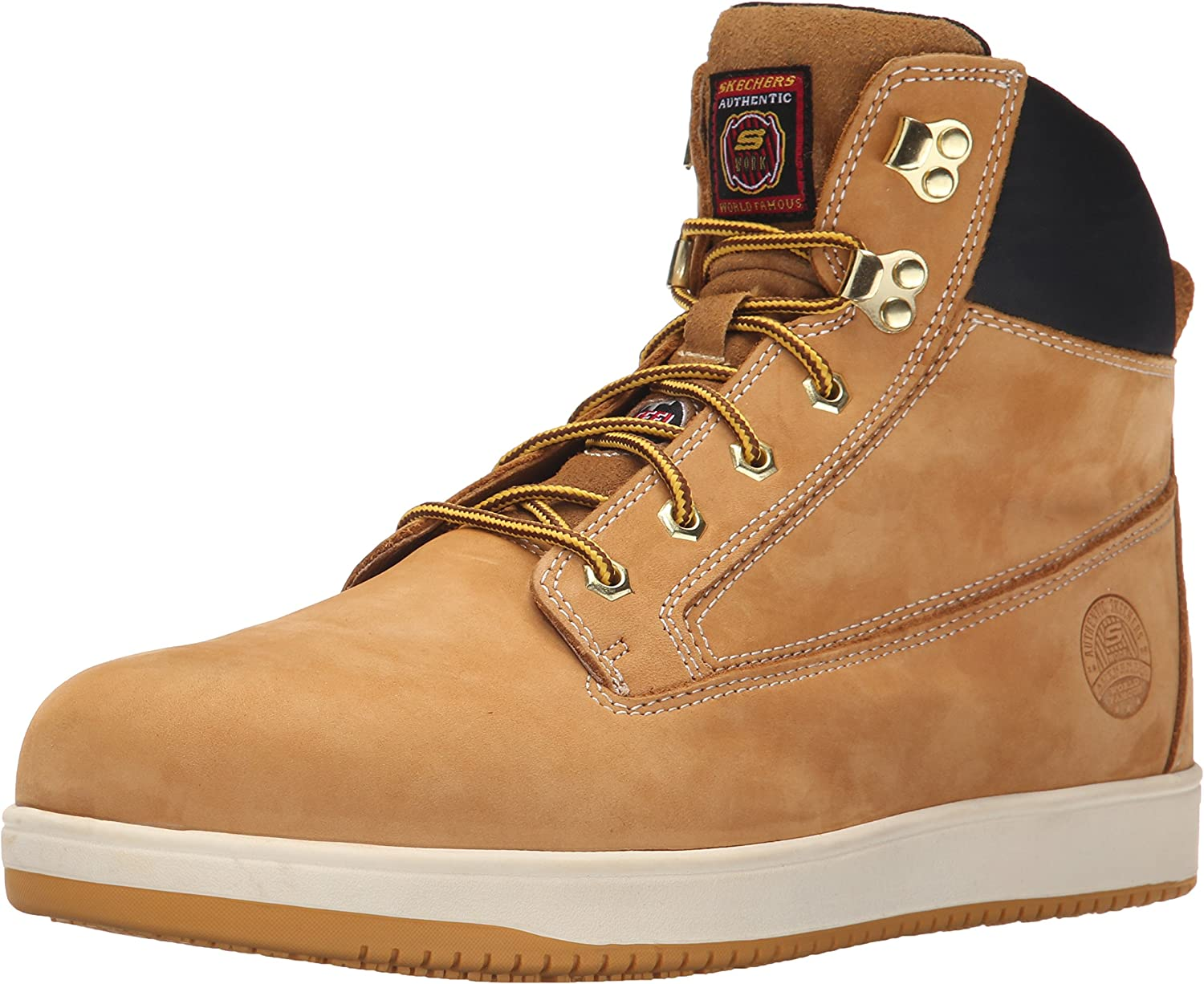 Skechers Mens Work Relaxed Fit Ossun
