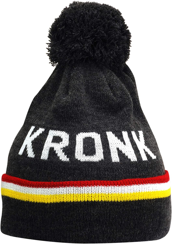 Kronk Detroit 3 Stripe Bobble Hat