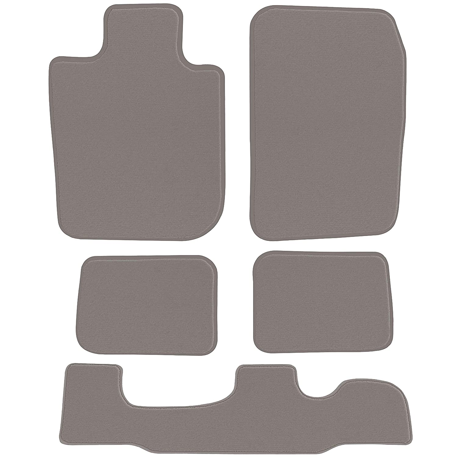 4 Piece Floor 2nd /& 3rd Row GGBAILEY D3569A-LSA-GY-LP Custom Fit Car Mats for 2005 Passenger 2006 2007 Chrysler Town and Country Grey Loop Driver