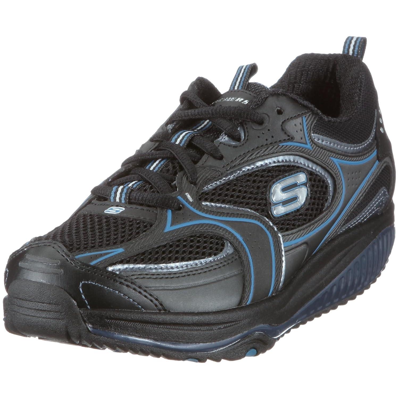 Skechers Women's Shape Ups XF Accelerators Fashion Sneaker B00377CYZ2 8.5 B(M) US|Black Blue