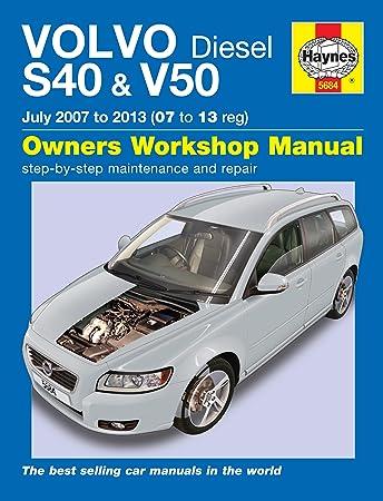 volvo v50 repair manual haynes manual service manual workshop manual rh amazon co uk