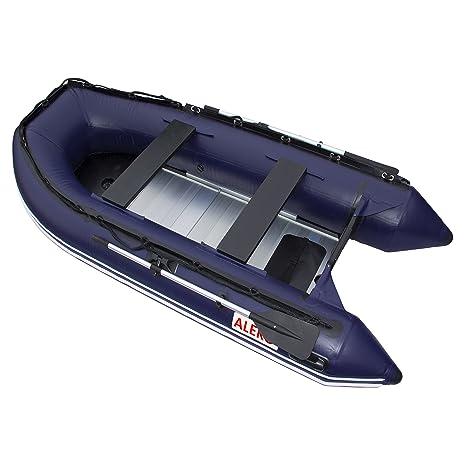 ALEKO hinchable azul barco 12.5 pies suelo de aluminio 6 ...