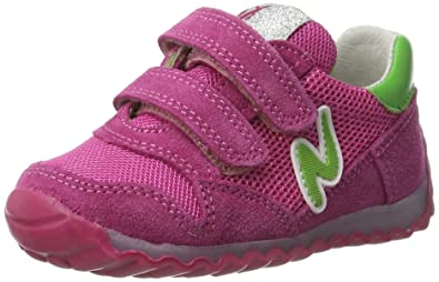 Naturino Sammy VL, Baskets Fille, Rose, 31 EU