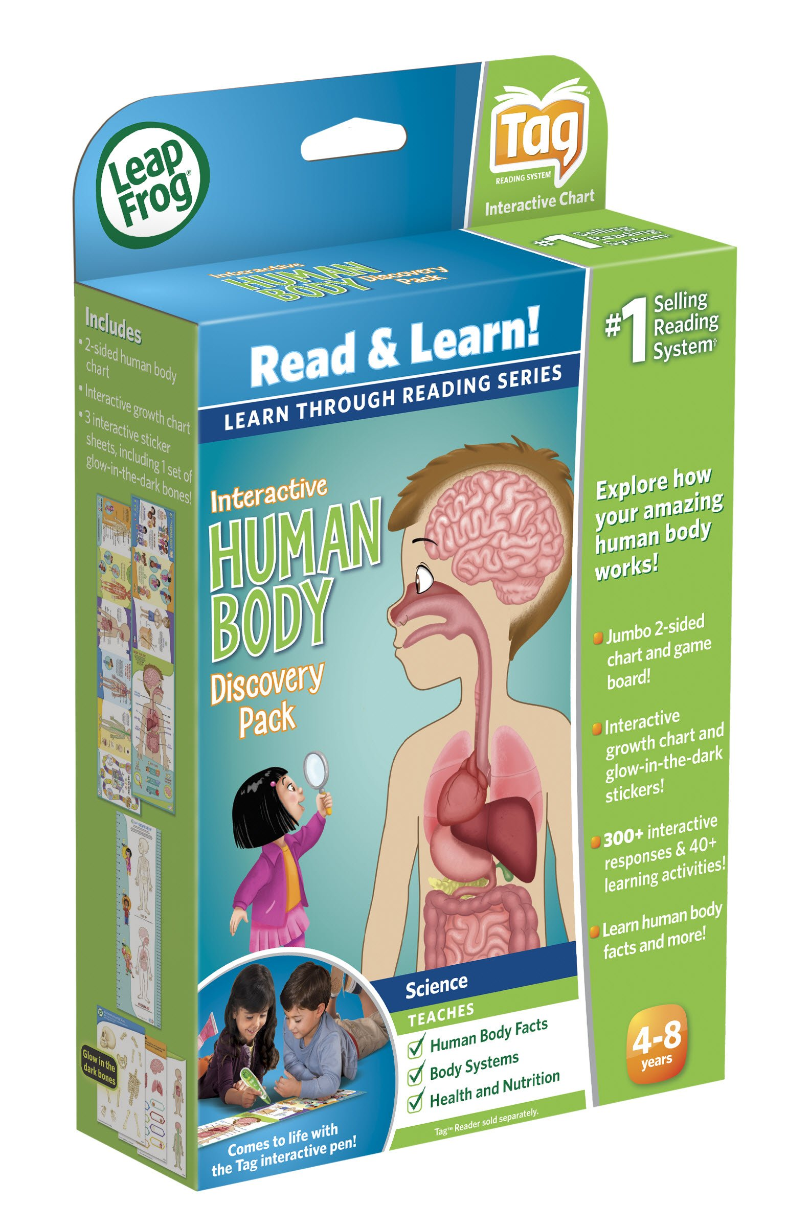 LeapFrog LeapReader Interactive Human Body Discovery Set (works with Tag) by LeapFrog (Image #11)