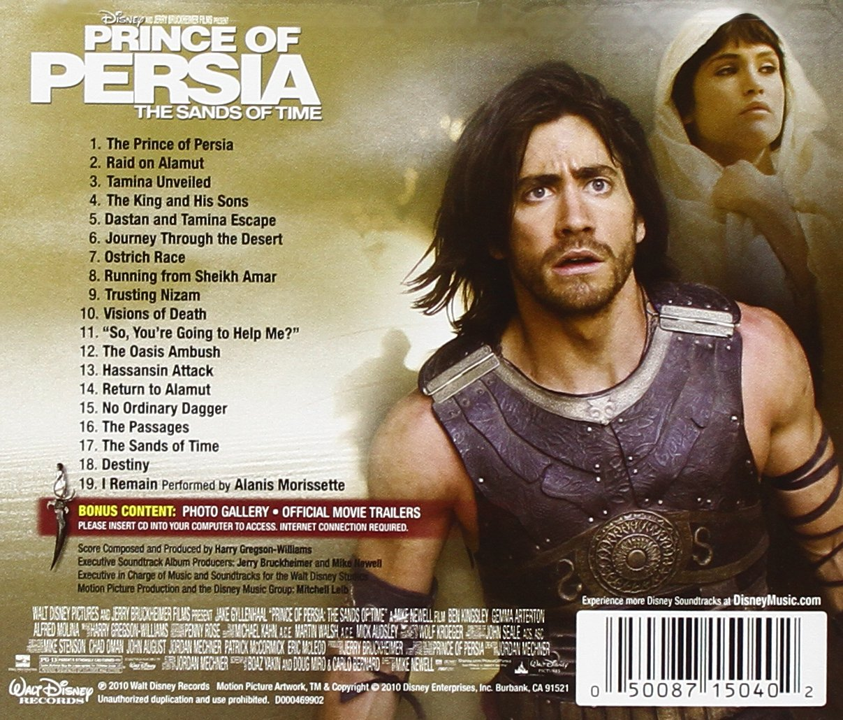 Harry Gregson Williams Prince Of Persia The Sands Of Time Amazon Com Music