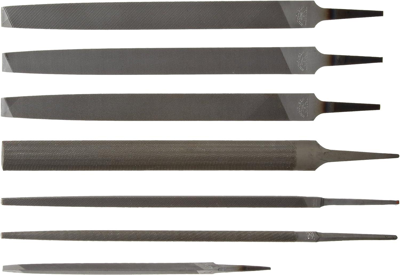 Nicholson Single Cut Round Shape 14 Units American Pattern File 6 in Length