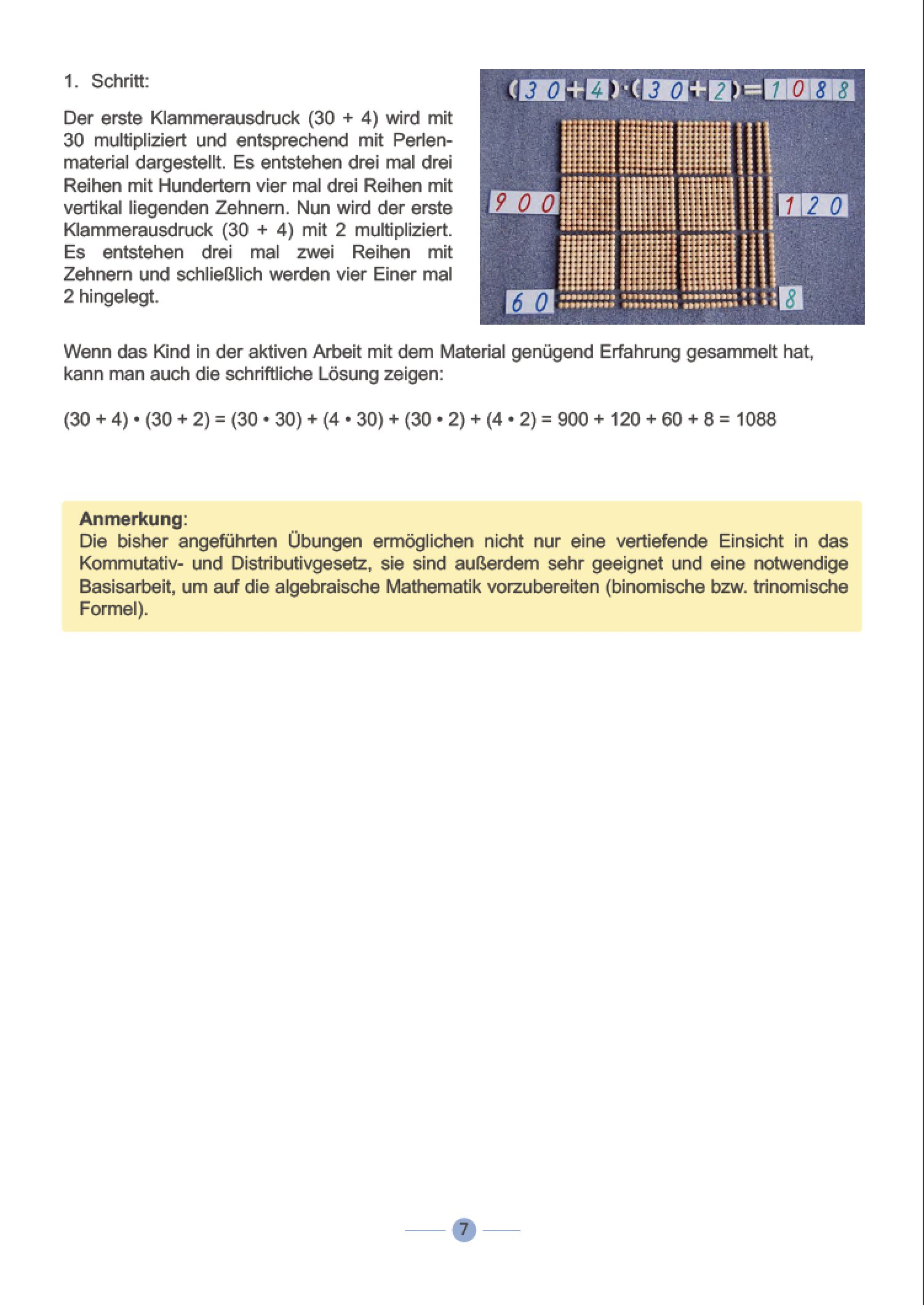 MONTESSORI PRAXIS - Mathematik: Algebra und Geometrie: Amazon.de: Dr ...