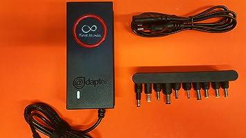 Cargador universal 90 W para ordenador portátil entrada AC100 V-240 V/50 –