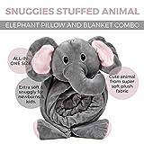 SNUGGIES Stuffed Animal Blanket and Plush