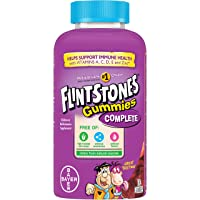 Flintstones Gummies Kids Vitamins, Gummy Multivitamin for Kids and Toddlers with...