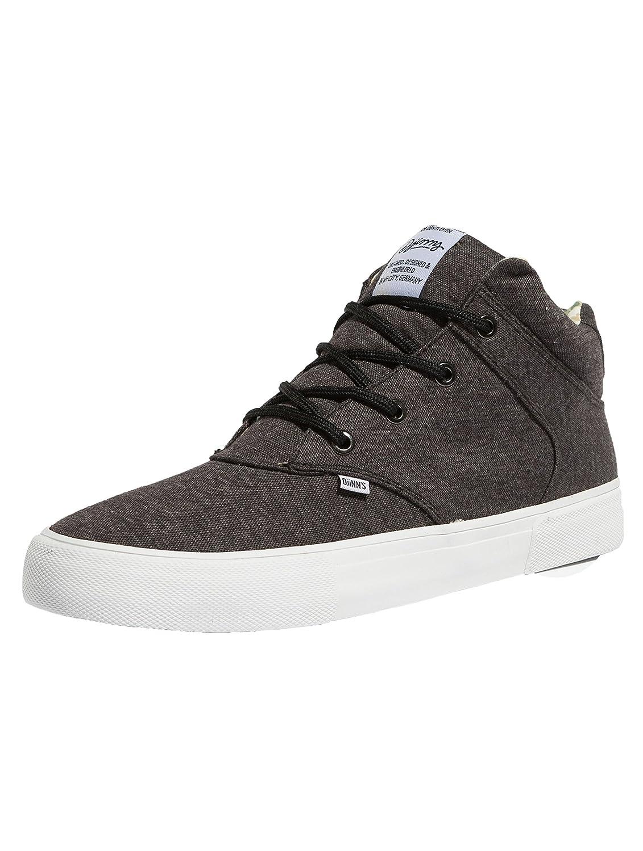 Djinns Herren Sneaker Chunk Jersey Aloha Sneakers  45 EU|Schwarz