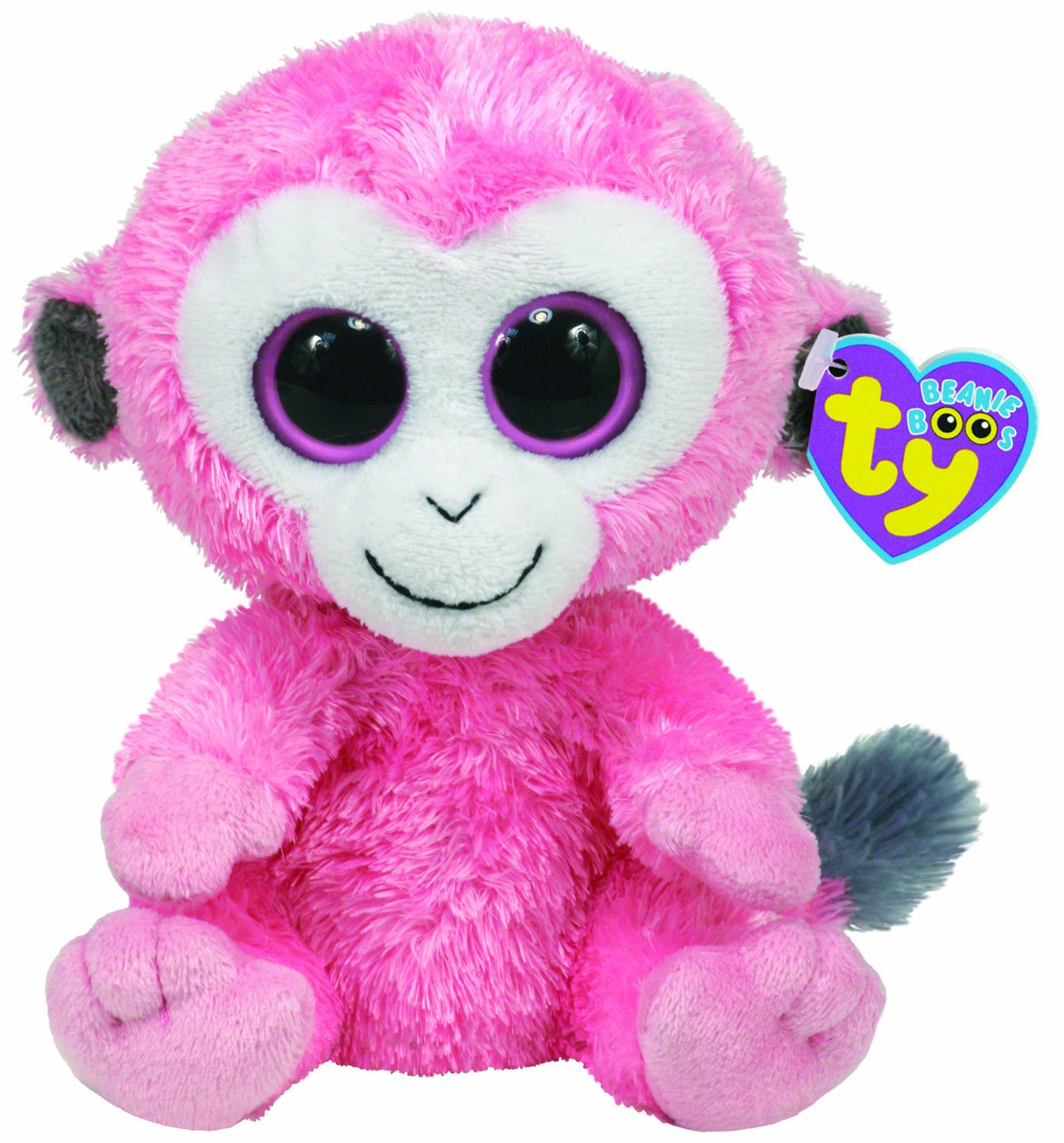 TY Beanie Boos SHERBET the Monkey Beanie Baby Size UK Exclusive
