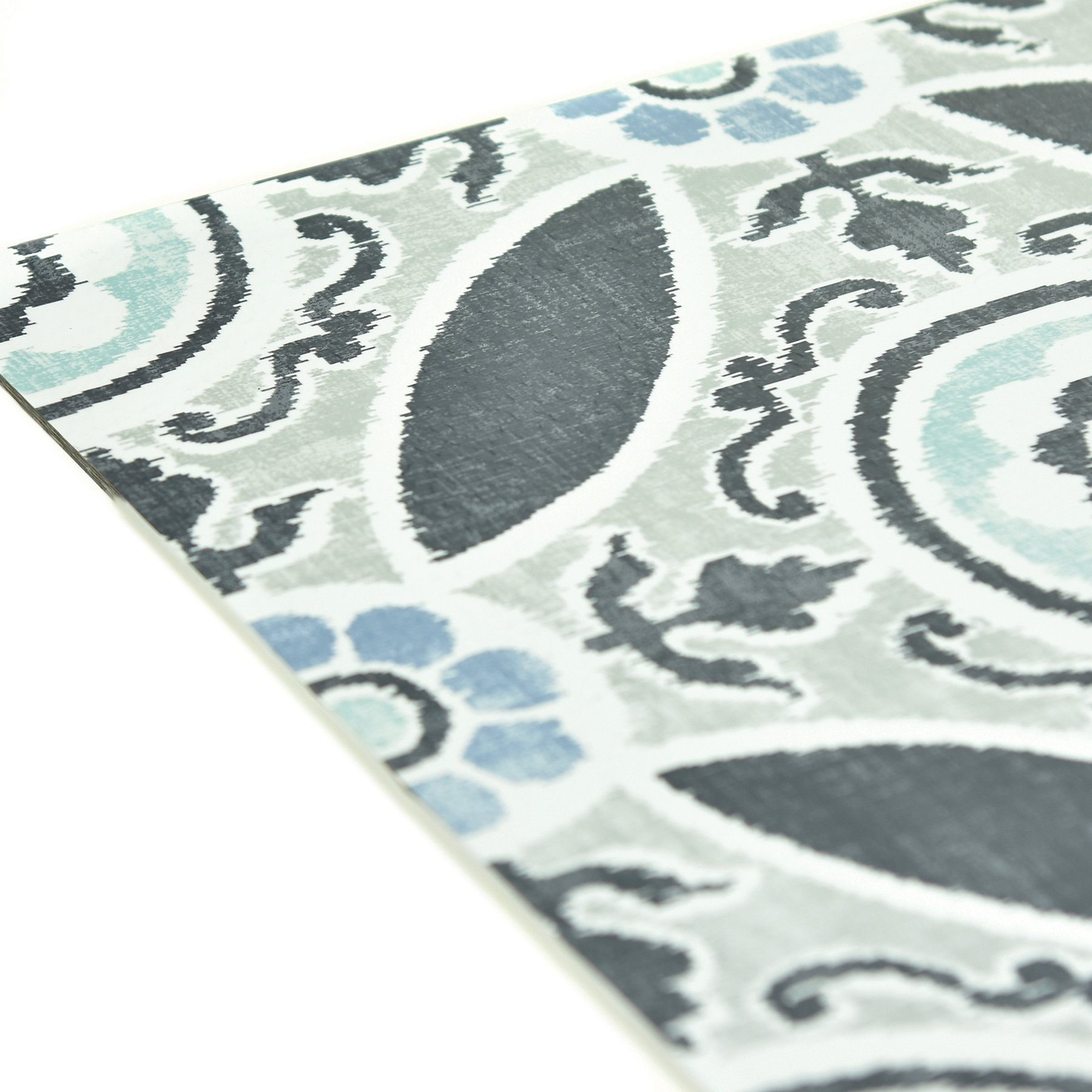 FloorPops FP2484 Sienna Peel & Stick Tiles Floor Decal, Blue by FloorPops (Image #5)