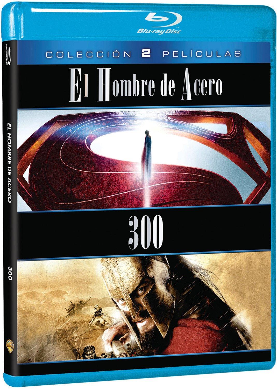 Pack: Hombre De Acero + 300 [Blu-ray]: Amazon.es: Henry Cavill, Amy Adams, Gerard Butler, Lena Headey, Zack Snyder, Henry Cavill, Amy Adams, Christopher Nolan, Mark Canton: Cine y Series TV