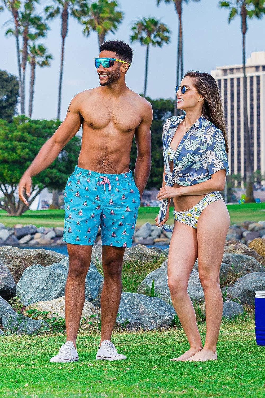 Women's Bright Hawaiian Shirt for Summer - Tropical Tie Front Top Aloha Shirts at  Women's Clothing store