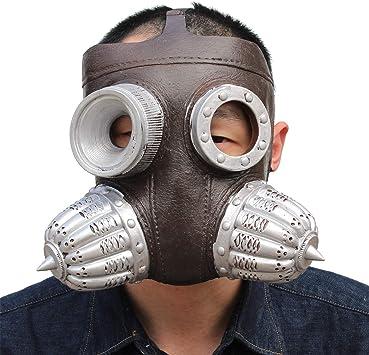 PartyHop Steampunk Biologico di Maschera Antigas Maschera di Halloween