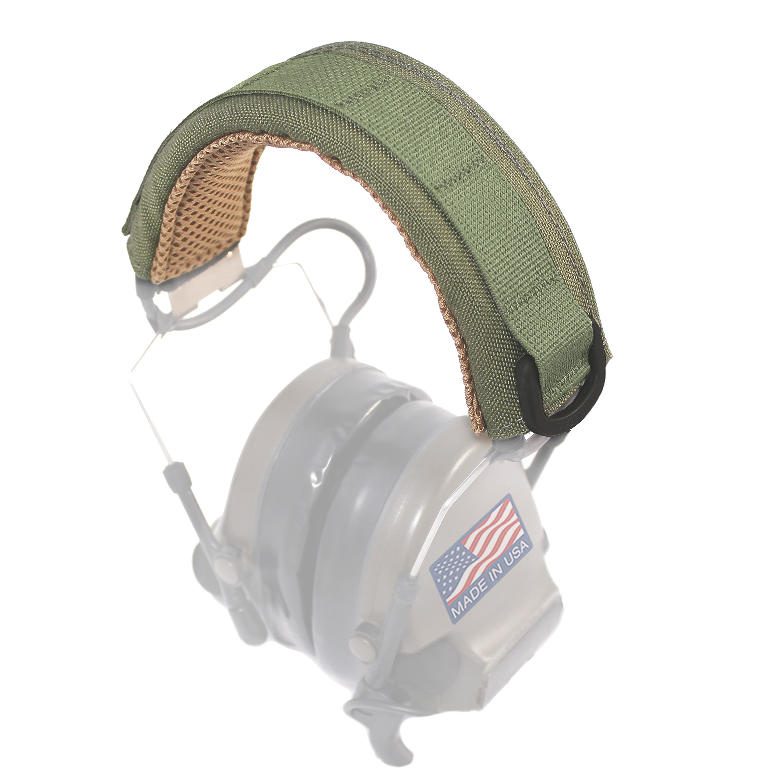 U.S. Tactical Sewing USTS Advanced Modular Headset Cover (Olive Drab) by U.S. Tactical Sewing