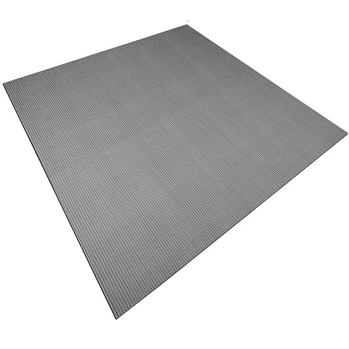 casa pura Design Bodenschutzmatte Verona zuverl/ässiger Bodenschutz Unterlegmatte f/ür Fitnessger/äte 60x120cm
