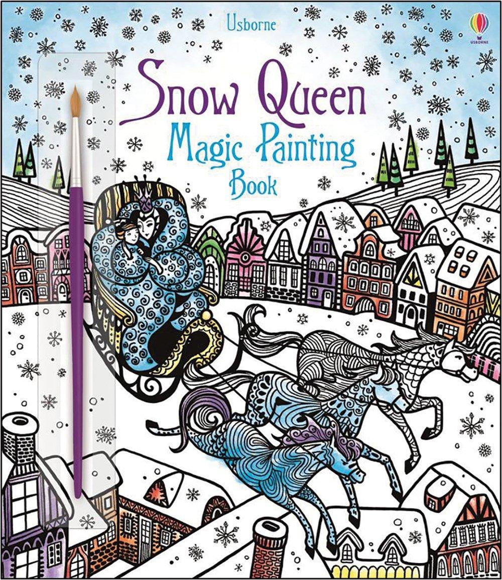 Snow Queen Magic Painting Book: 9780794541392: Amazon.com: Books