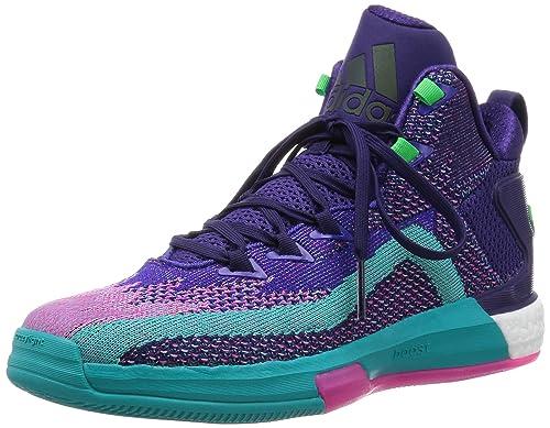adidas Performance - Zapatillas de Baloncesto para Hombre Lila ...