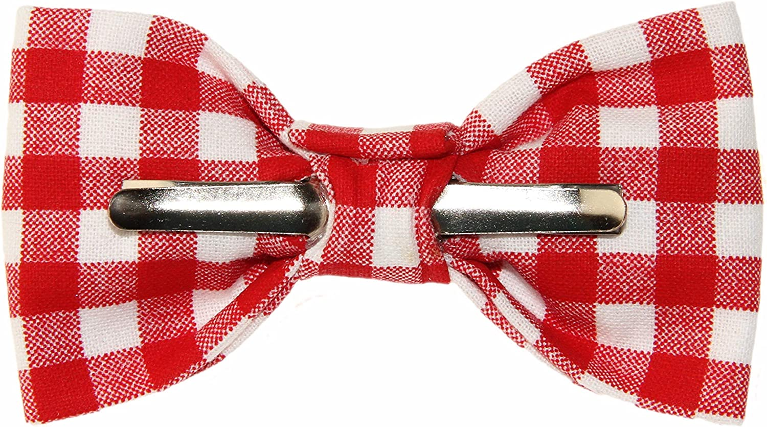 Toddler Boy 4T 5T Ladybugs and Hearts Clip On Cotton Bow Tie by amy2004marie