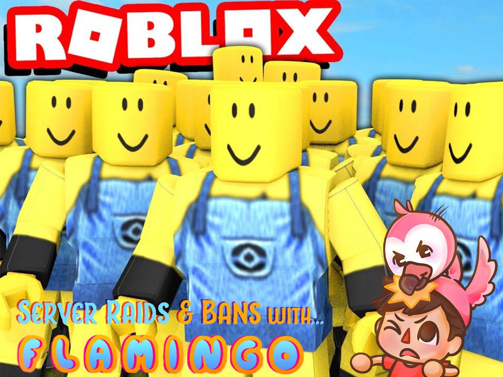 Roblox Server Raids & Bans with Flamingo on Amazon Prime Video UK