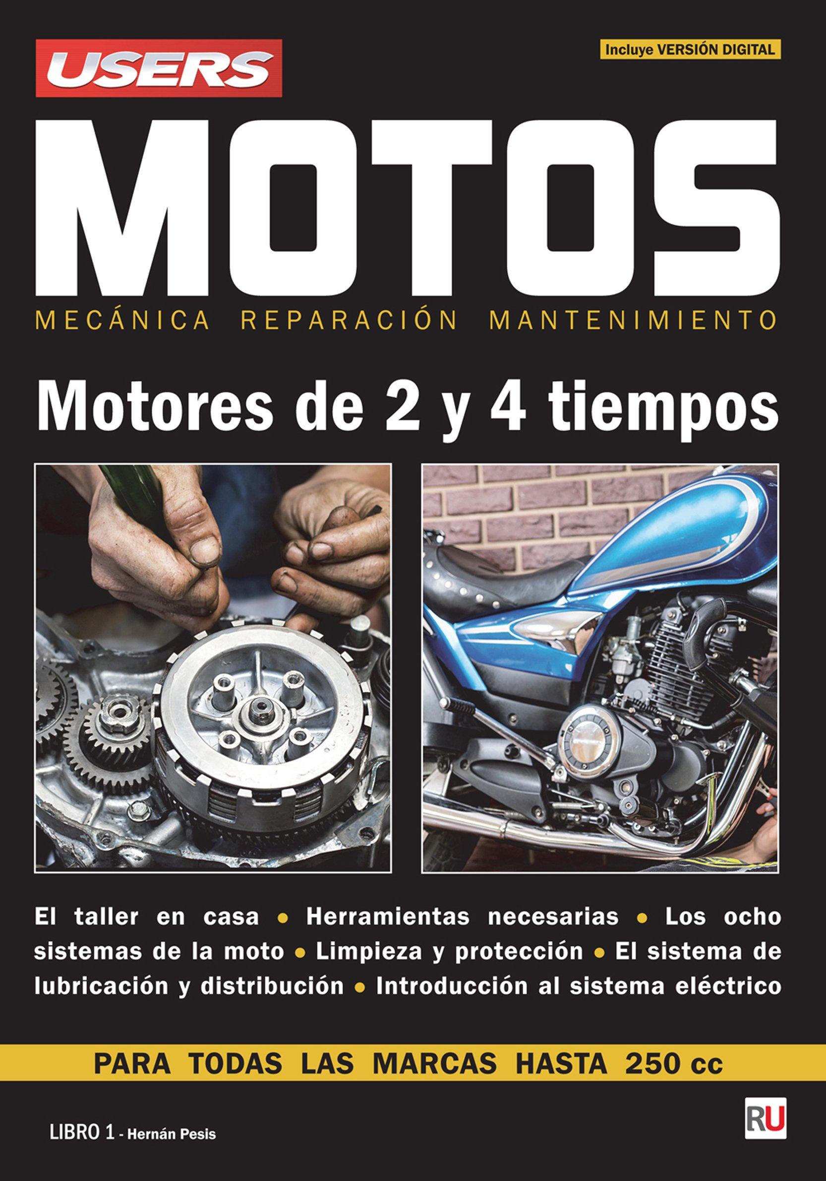 Motos - Motores de 2 y 4 tiempos (Spanish Edition) (Spanish) Paperback – February 1, 2016