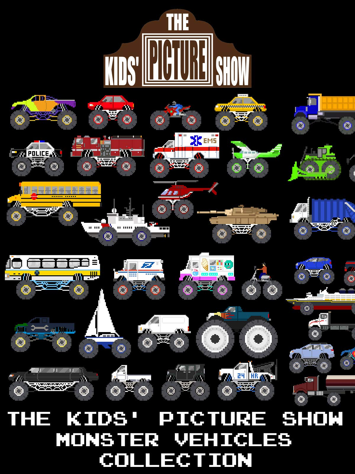 The Kids' Picture Show - Monster Vehicles Collection