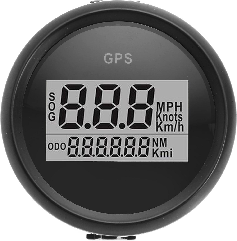 Forspero 52mm Impermeable GPS medidor de velocímetro Digital para Motocicleta Marina Barco Coche camión