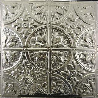 Delighted 12 Ceramic Tile Tiny 12X24 Floor Tile Designs Rectangular 6 X 6 White Ceramic Tile Abriola Beige Ceramic Tile Old Accoustic Ceiling Tiles GreenAcoustic Ceiling Tile Paint Amazon.com: Metalceilingexpress 24x24 Inch Unfinished Nail Up Tin ..