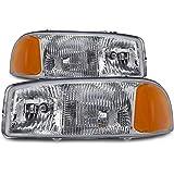 GMC Sierra/Yukon New Headlights Set Headlamps Pair