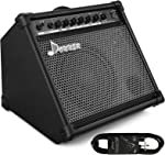 Donner DDA-35 AMP 35-Watt Electronic Drum Amplifier Keyboard Amplifier with Aux in and Wireless audio connection, Drum/Keyboard/MIC 3 in 1 Amplifier with...