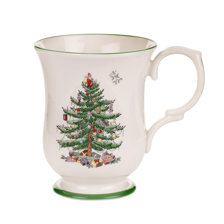Amazon Com Spode Christmas Tree 12 Piece Dinnerware Set Service  - Christmas Tree Discounts