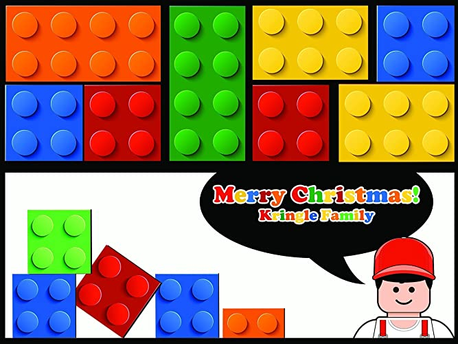 Christmas Block Party Ideas Part - 44: Block Party Supplies Poster Pieces Blocks Decor Xmas Decorations Christmas  Banner, Merry Christmas, Christmas