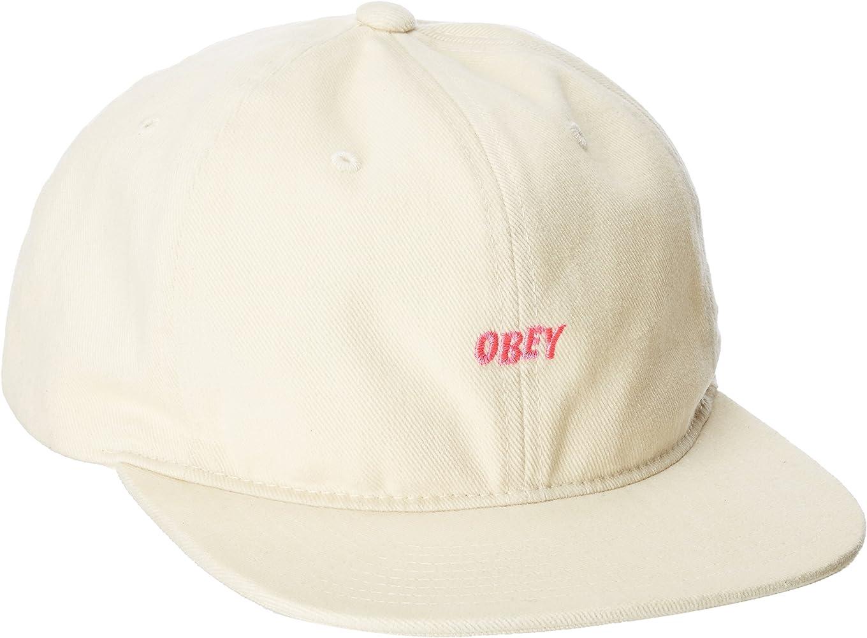 Obey - Gorra de béisbol - para Hombre Crema Talla única: Amazon.es ...