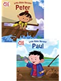 Peter/Paul Flip-Over Book (Little Bible Heroes™)