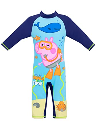 af41b62b4 George Pig Boys George Pig Swimsuit Age 4 to 5 Years: Amazon.co.uk: Clothing