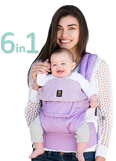 LÍLLÉbaby The COMPLETE Embossed SIX-Position 360° Ergonomic Baby /& Child Carrie