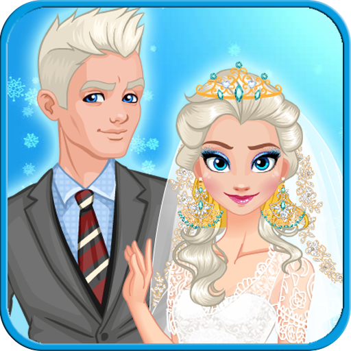 Snow Queen Wedding - Wedding Games for Girls - Makeup & Dressup Wedding Games (Make Up Games Dress Up Games Princess)