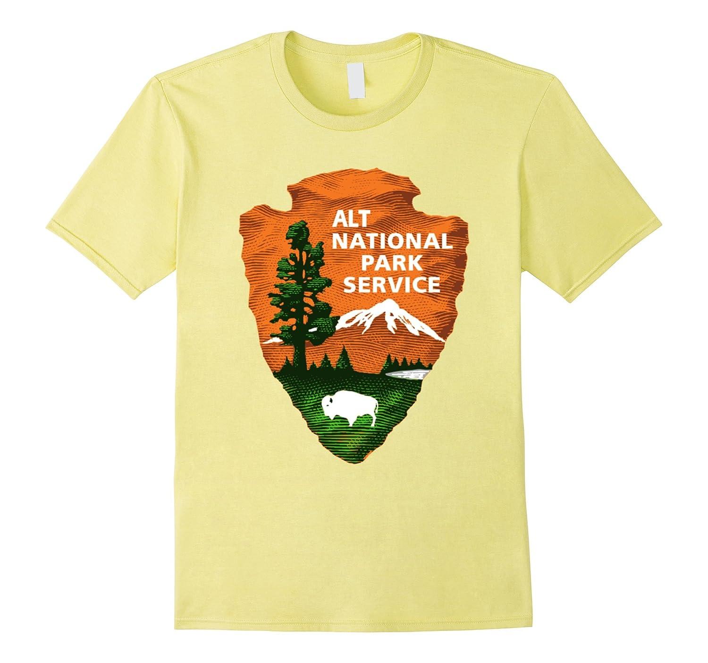 ALT US National Park Service Resist Bear T-shirt-ah my shirt one gift