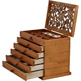 Real wood / Wooden Jewelry Box Case SI-JC866