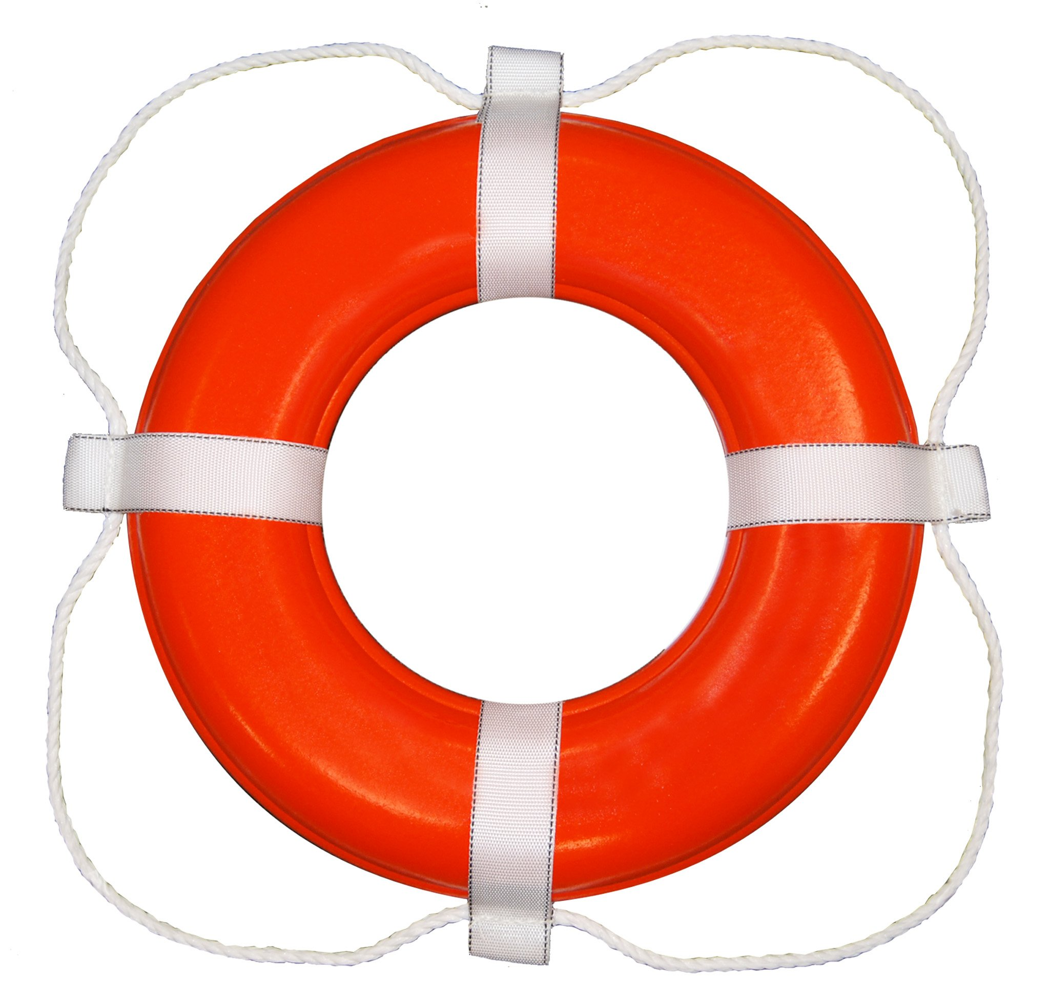 Taylor Made Products 368 USCG Approved Foam Life Ring (24'', Orange) by TAYLOR MADE PRODUCTS