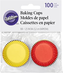 Wilton 100-Pack Cup Prim Food Colors, Mini