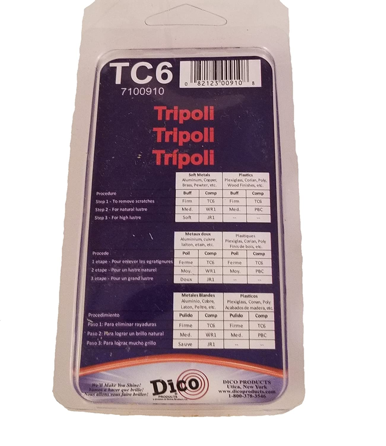 Dico Tripoli Buffing Compound